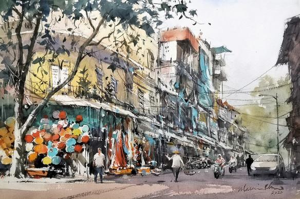Lantern Street • Hanoi Old Quarter, Vietnam