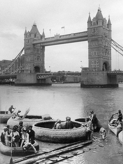Mesopotamia Upon Thames montage 1: Guffas at Tower Bridge