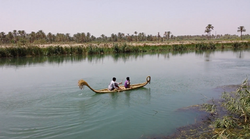 Reed boat - afloat