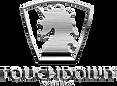 touchdown wheels logo-brushed silver
