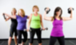senior women gym classes near lancaster