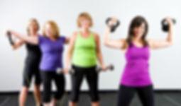 senior women gym classes near lancaster