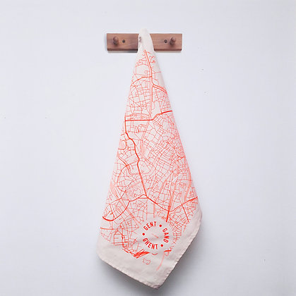 Tea towel 'mmmMar' - Gent