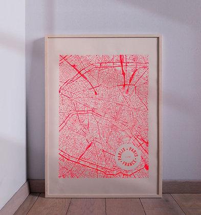 Poster 'mmmMAR' - Paris 50x70