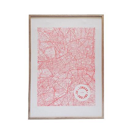 Poster 'mmmMAR' - London 50x70