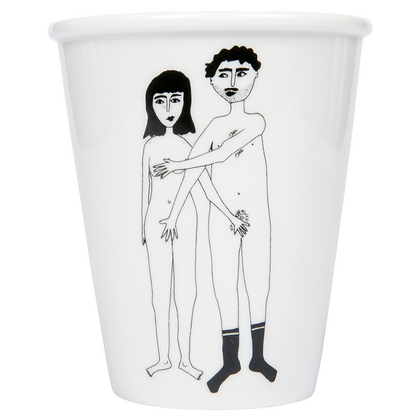 Cup 'Naked Couple' - Helen B