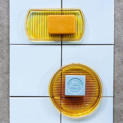 """Glass trays """"Atelier Belge"""" - Lorry trays set/2"""