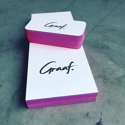 Gift card 'Graaf.' - 2 nights