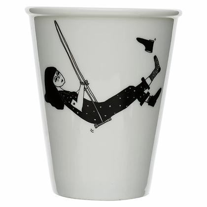 Cup 'Helen B' -  Swinging Girl