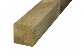 Soft Wood Dipped Posts