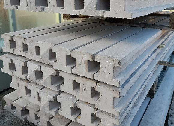 8' Concrete H post
