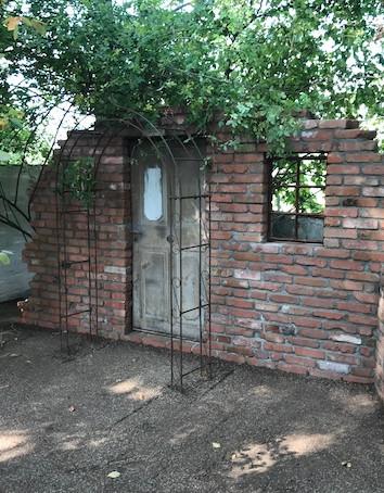 Ziegelsteinmauer palaeo