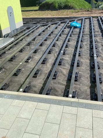 Unterbodenkonstruktion nahe Höchstadt an der Aisch