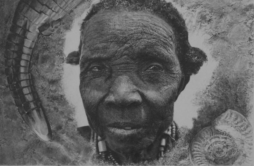 Textures (featuring Rod Waddington's Elderly Dassanech Woman) 2017