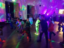 disco party cloud