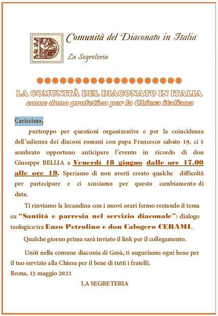 letteracomunitàper evento 18062021.JPG