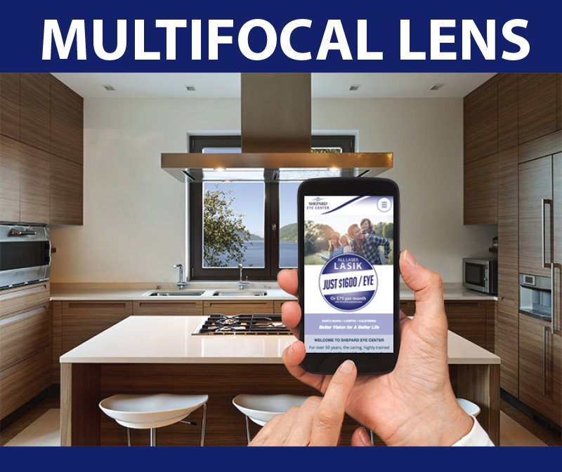 Multifcal lens: see the big picture and the up-close details