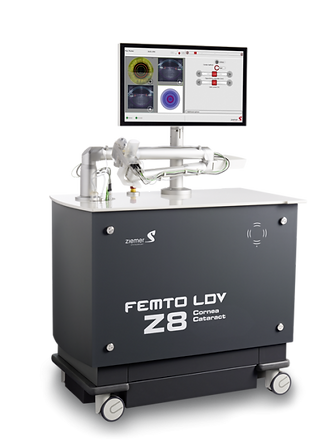 FEMTO LDV Z8 for Femtosecond laser-assisted cataract surgery