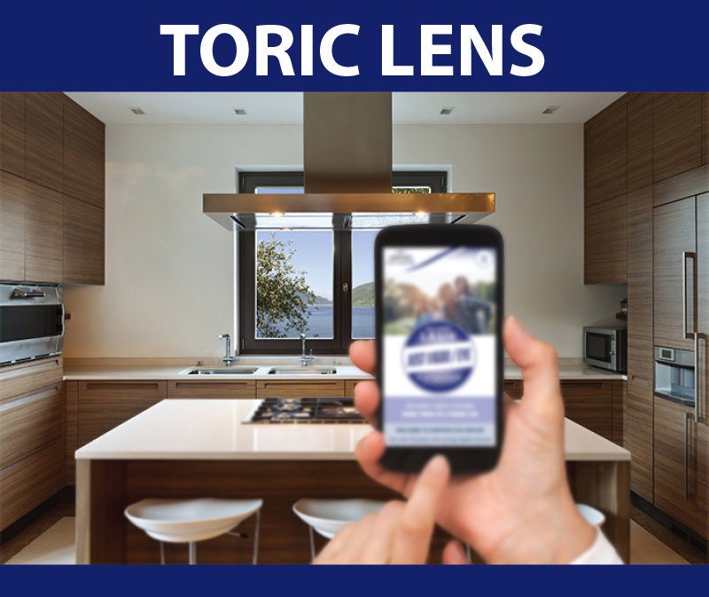 Toric lens vision: Strong vision for disance or near