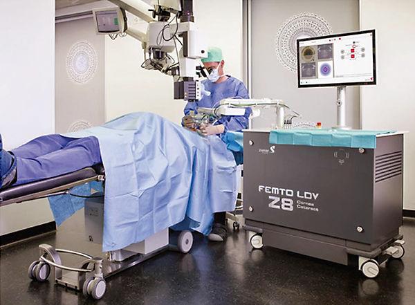 Femto LDV z8 Laser, femtosecond, ziemer