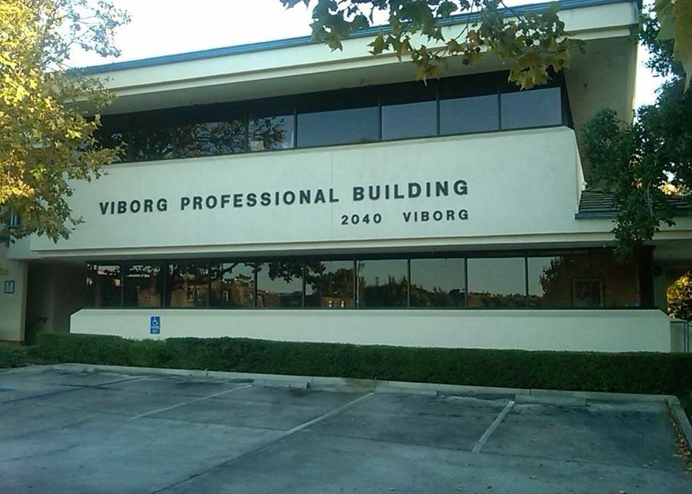 Shepard Eye Center, Santa Maria, CA, drone, aerial photography
