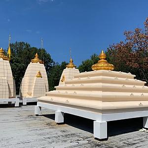 Shikhar and Kalash Installation