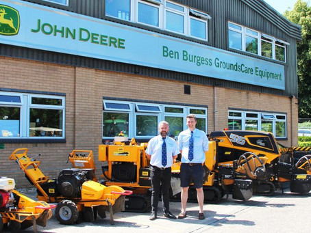 Ben Burgess Grounds Care become main Predator stump grinder distributor for England and Wales.