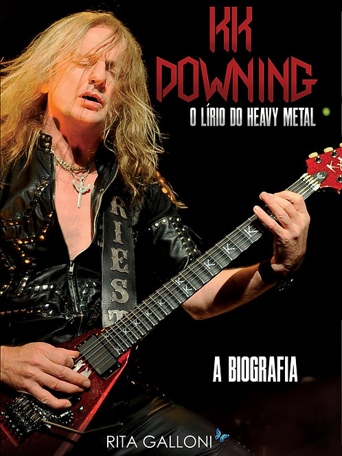 Livro | KK Downing: O Lírio do Heavy Metal