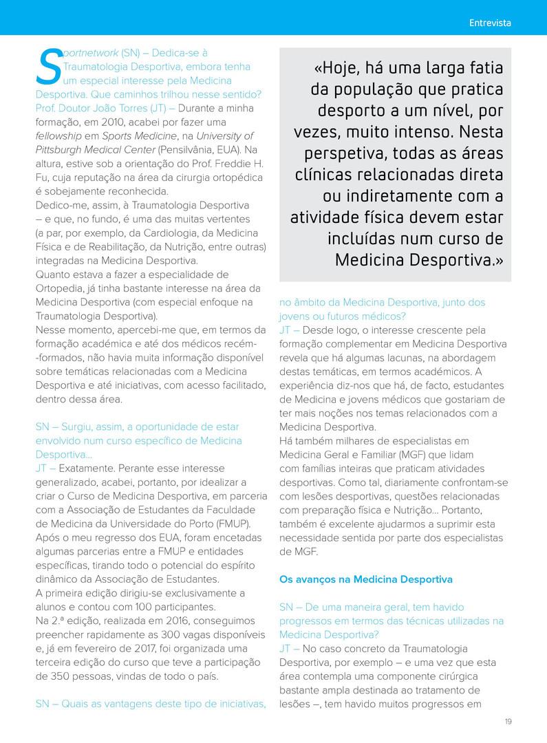 Entrevista SportNetwork - João Torres 2.