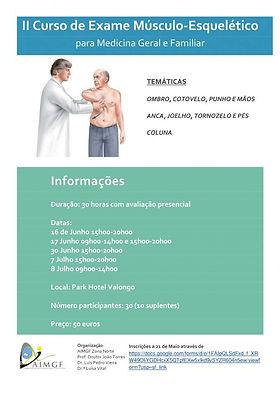 II Curso de Exame Musculo-Esquelético pa