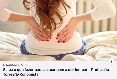 Artigo E-Konomista Dor Lombar - João Tor