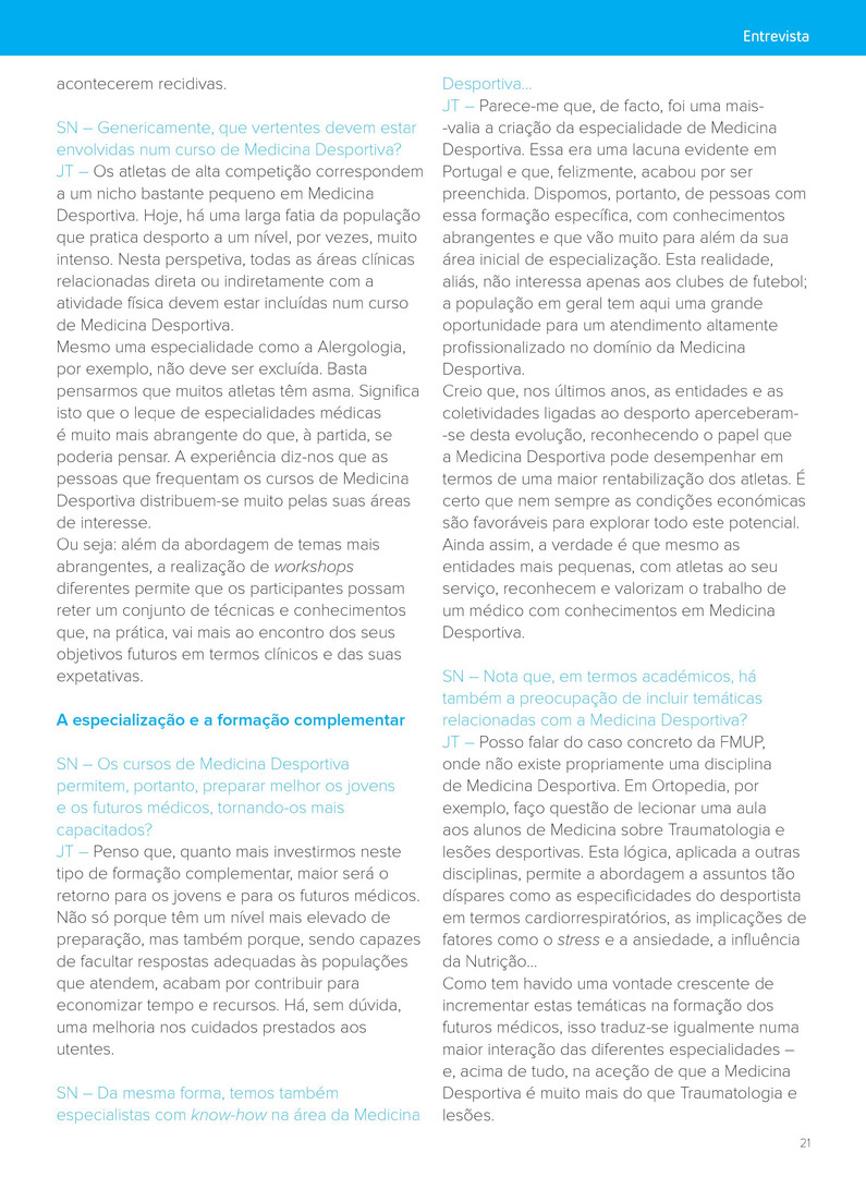 Entrevista SportNetwork - João Torres 4.