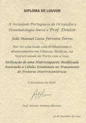 Diploma de Louvor SPOT - João Torres .jp