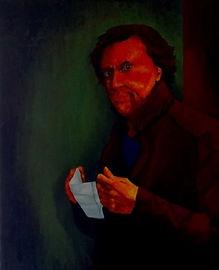 Self portrait Covid 19