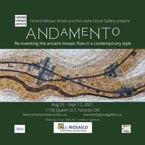 Andamento Mosaic Art Show - Aug 25 to Sep 12