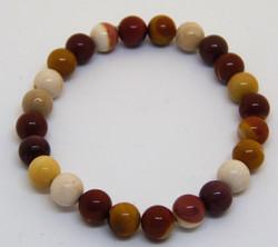 mookaite stretchy bracelet