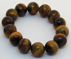 Tigers eye jewellery set