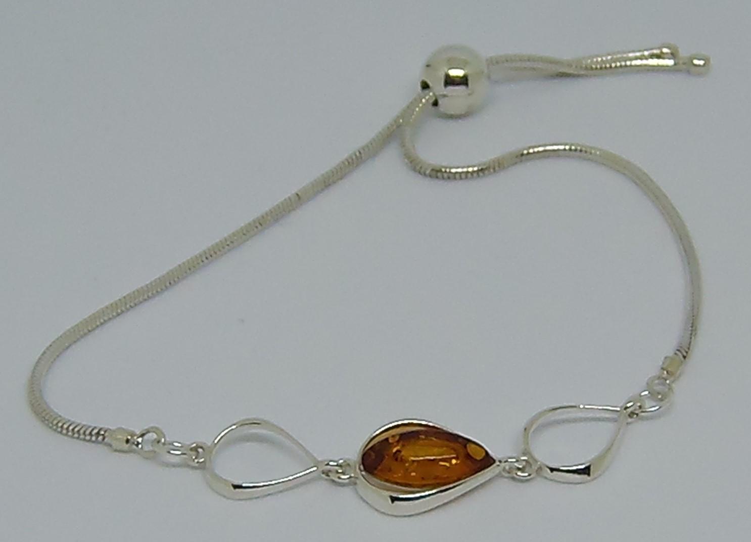 amber connector bracelet