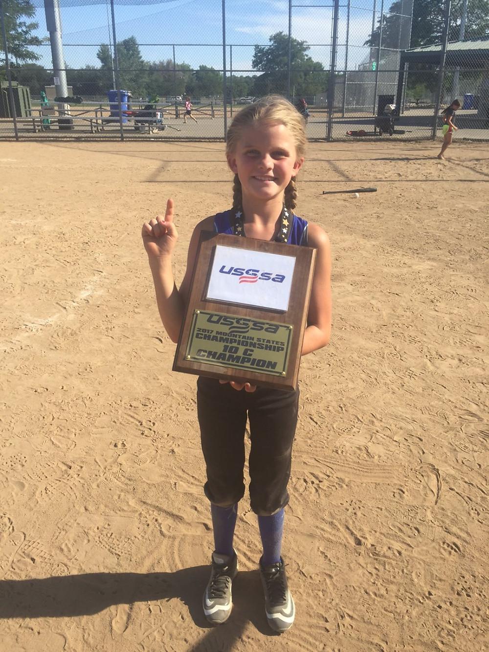 USGA State Champion 10U