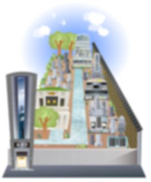 南春寺 境内図