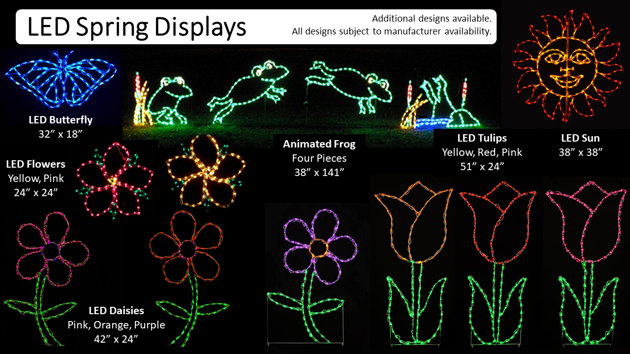 LED Spring Displays