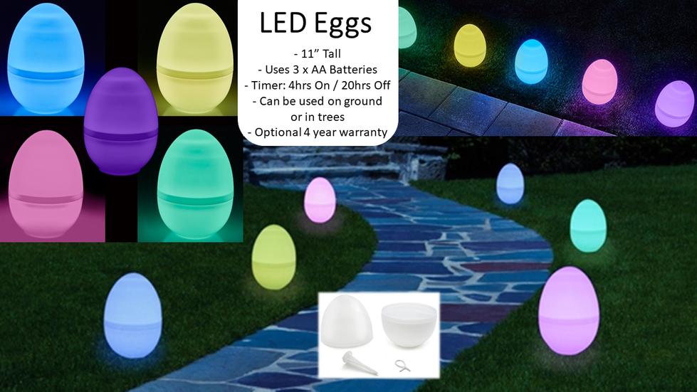 LED Eggs