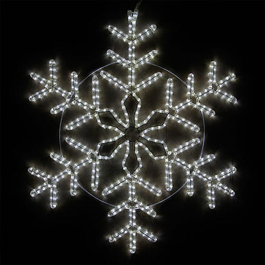 Cool White Snowflake