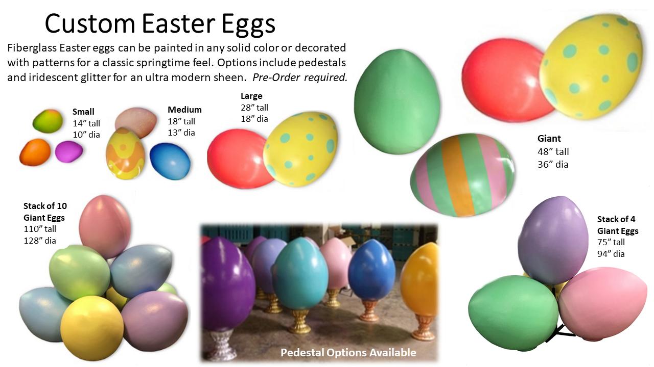Custom Easter Eggs