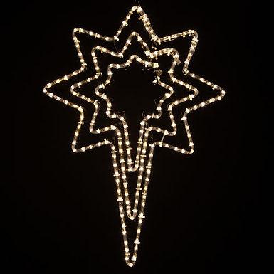 Triple Bethlehem Star, Clear Lights