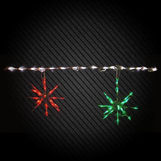 Twinkle Starburst (Red/Green)