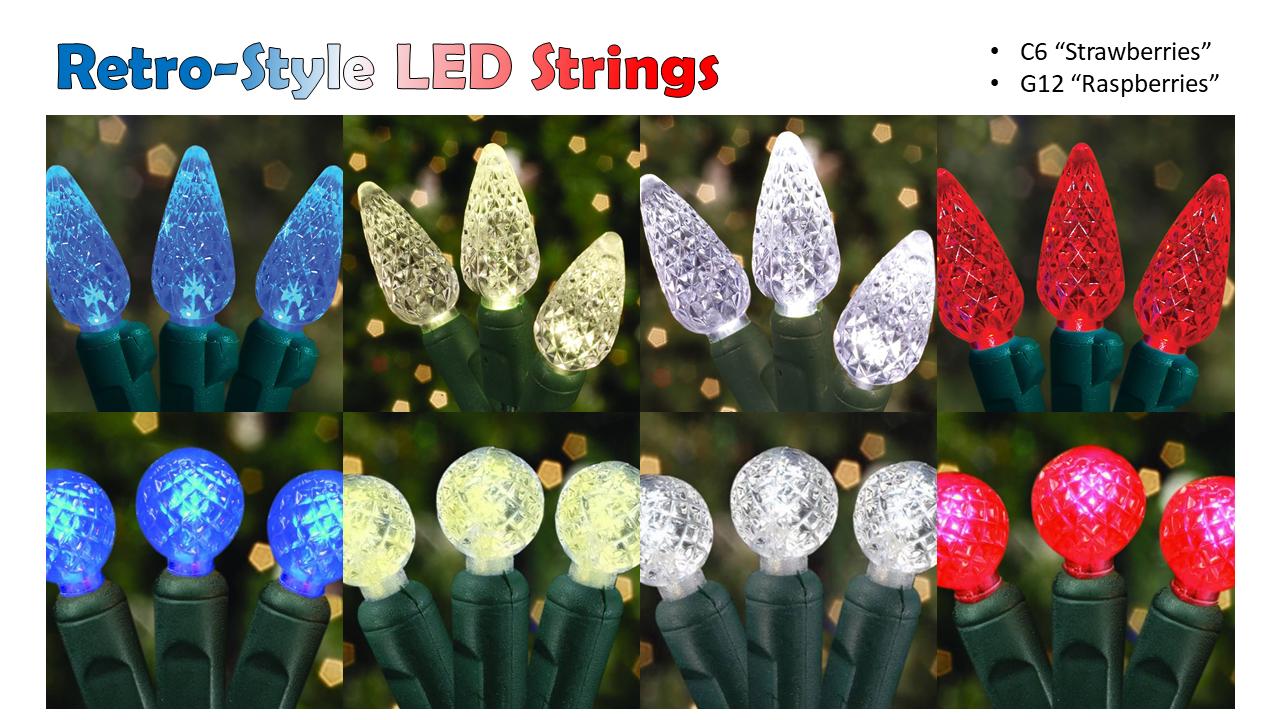 Retro-Style LED Strings