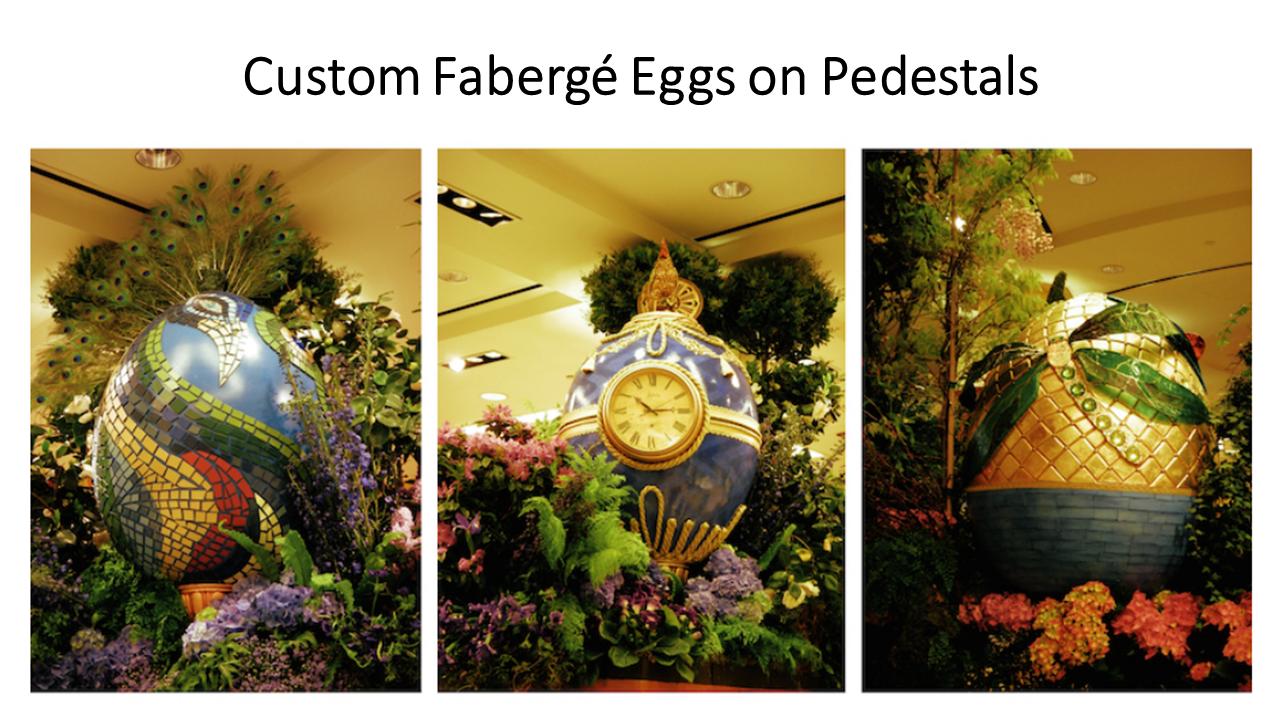Custom Faberge Easter Eggs
