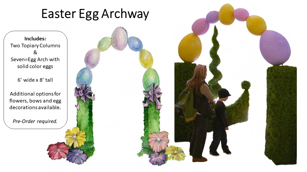 Easter Egg Archway