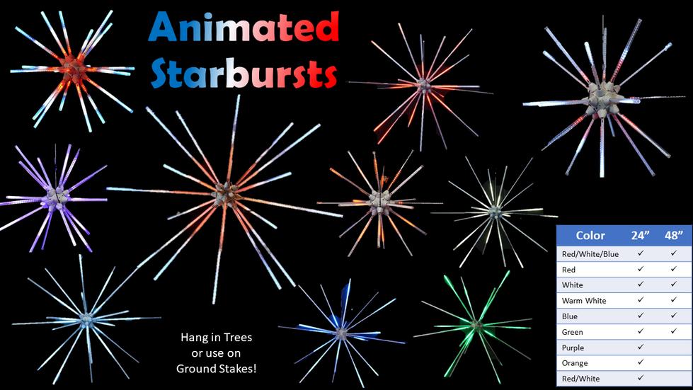 Animated Starbursts